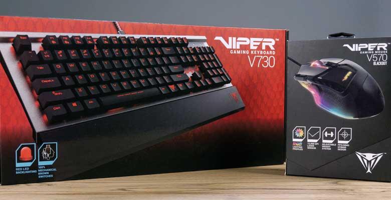 Llegó VIPER V730, el teclado mecánico de PATRIOT